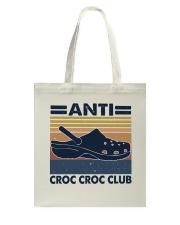 Anti Croc Croc Club Tote Bag thumbnail