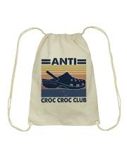 Anti Croc Croc Club Drawstring Bag thumbnail