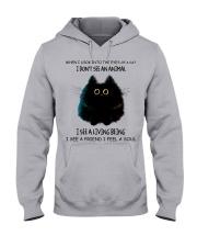 I Dont See An Animal Hooded Sweatshirt thumbnail