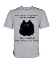 I Dont See An Animal V-Neck T-Shirt thumbnail