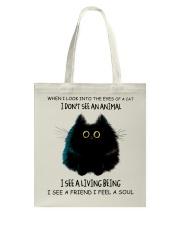 I Dont See An Animal Tote Bag thumbnail