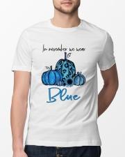 We Wear Blue Classic T-Shirt lifestyle-mens-crewneck-front-13