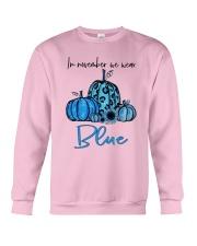 We Wear Blue Crewneck Sweatshirt thumbnail