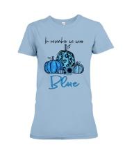 We Wear Blue Premium Fit Ladies Tee thumbnail