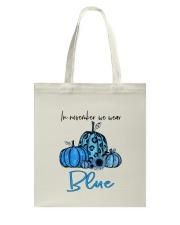 We Wear Blue Tote Bag thumbnail