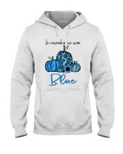 We Wear Blue Hooded Sweatshirt thumbnail