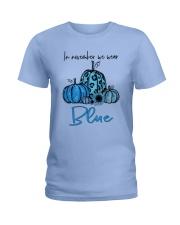 We Wear Blue Ladies T-Shirt thumbnail