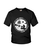 Let Go Far Away From People Youth T-Shirt thumbnail