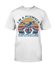 I'm A Plumber Premium Fit Mens Tee thumbnail