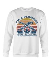 I'm A Plumber Crewneck Sweatshirt thumbnail