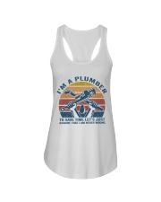 I'm A Plumber Ladies Flowy Tank thumbnail