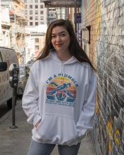 I'm A Plumber Hooded Sweatshirt lifestyle-unisex-hoodie-front-1