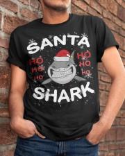 Santa Shark Classic T-Shirt apparel-classic-tshirt-lifestyle-26