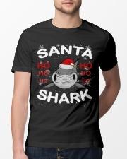 Santa Shark Classic T-Shirt lifestyle-mens-crewneck-front-13
