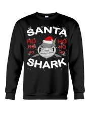 Santa Shark Crewneck Sweatshirt thumbnail