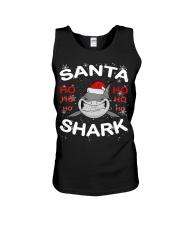Santa Shark Unisex Tank thumbnail