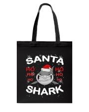 Santa Shark Tote Bag thumbnail
