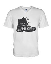 Take A Hike V-Neck T-Shirt thumbnail