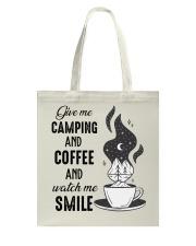 Give Me Camping Tote Bag thumbnail
