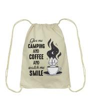 Give Me Camping Drawstring Bag thumbnail