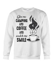 Give Me Camping Crewneck Sweatshirt thumbnail