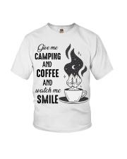 Give Me Camping Youth T-Shirt thumbnail