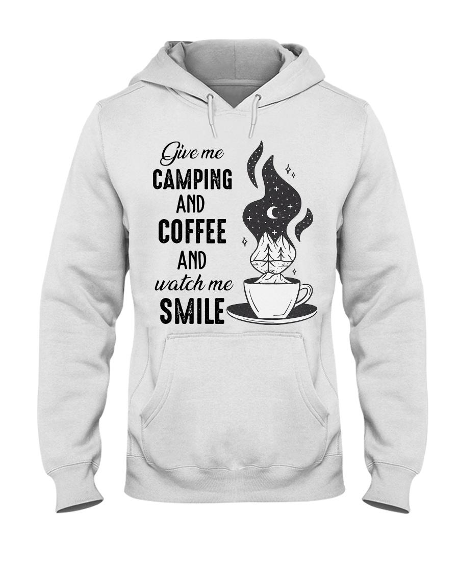 Give Me Camping Hooded Sweatshirt