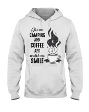Give Me Camping Hooded Sweatshirt front