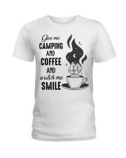 Give Me Camping Ladies T-Shirt thumbnail