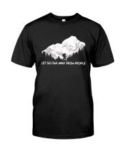 Let Go Far Away From People Classic T-Shirt thumbnail