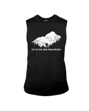 Let Go Far Away From People Sleeveless Tee thumbnail