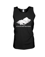 Let Go Far Away From People Unisex Tank thumbnail