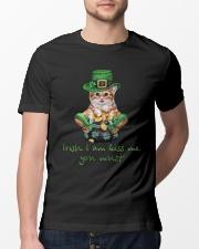 I Am Kiss Me You Must Classic T-Shirt lifestyle-mens-crewneck-front-13