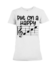 Music Teacher Premium Fit Ladies Tee thumbnail