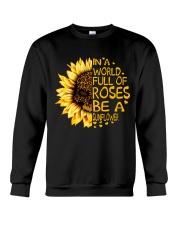 In A World Full Of Roses Crewneck Sweatshirt thumbnail
