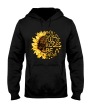 In A World Full Of Roses Hooded Sweatshirt thumbnail