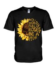 In A World Full Of Roses V-Neck T-Shirt thumbnail