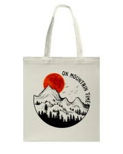 On Mountain Time Tote Bag thumbnail