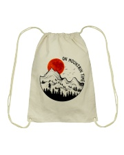 On Mountain Time Drawstring Bag thumbnail