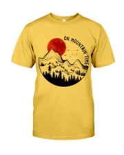 On Mountain Time Classic T-Shirt thumbnail