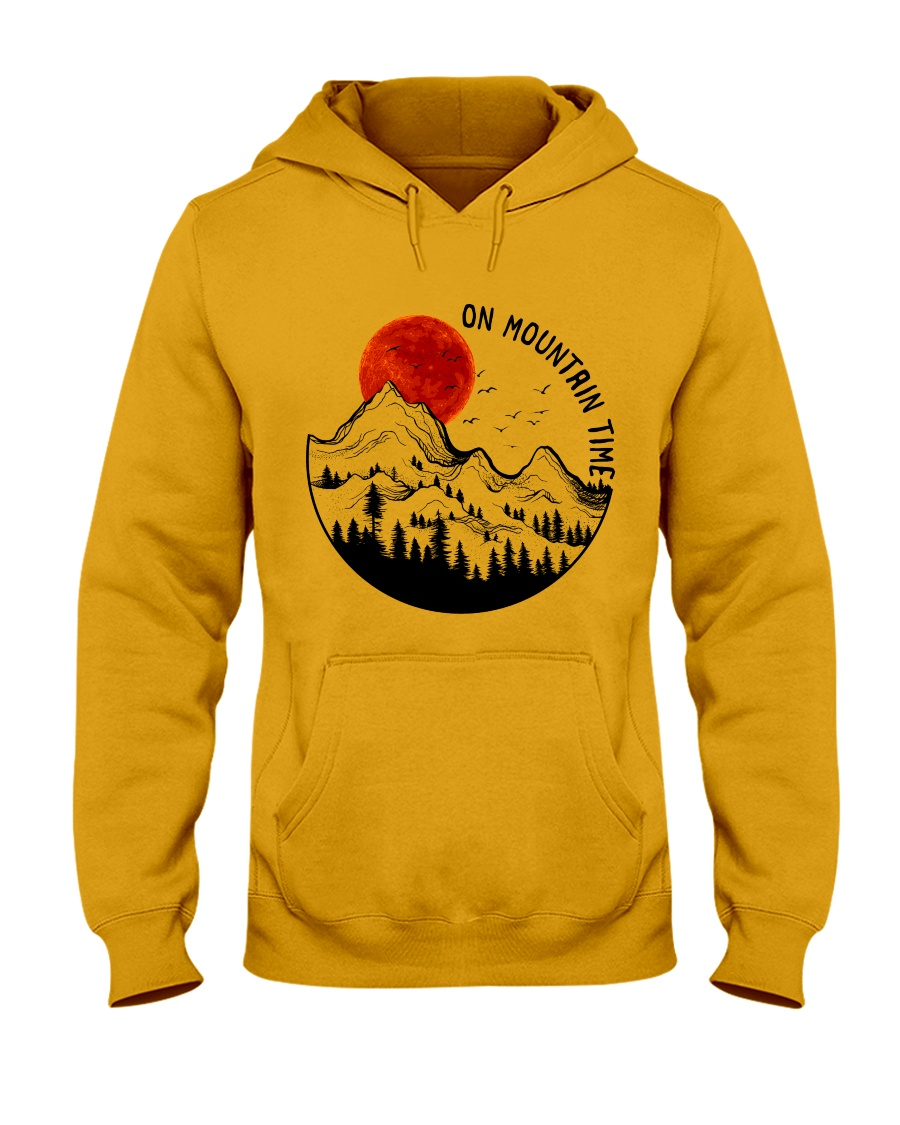 On Mountain Time Hooded Sweatshirt