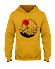 On Mountain Time Hooded Sweatshirt front