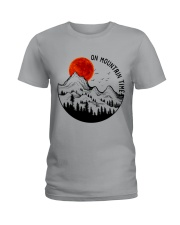 On Mountain Time Ladies T-Shirt thumbnail