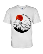 On Mountain Time V-Neck T-Shirt thumbnail