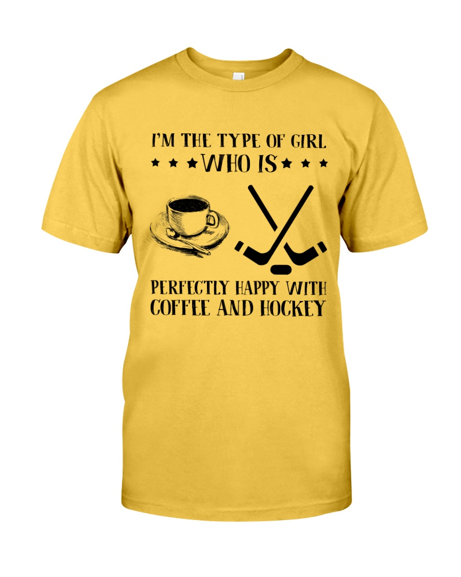 Coffee And Hockey Classic T-Shirt