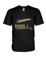 Halley's Comet V-Neck T-Shirt thumbnail