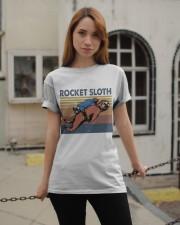 Rocket Sloth Classic T-Shirt apparel-classic-tshirt-lifestyle-19