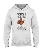 Sorry Hooded Sweatshirt thumbnail