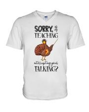 Sorry V-Neck T-Shirt thumbnail