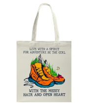 Live With A Spirit Tote Bag thumbnail